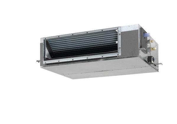 FBQ - Skjult takkassett for kanaltilslutning. FBQ modellene kombinerer medium mottrykk med et slankt design. Modellene benyttes til skjult montasje og kan tilknyttes et kanalsystem for luftdistribusjon til flere rom. Kombineres med Seasonal Classic, Seasonal Smart eller RXS-L utedel.