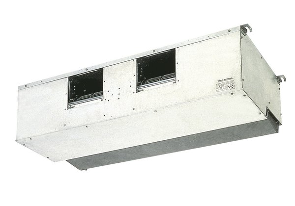 FDQ –B  Kraftig, skjult takkassett for kanaltilslutning. FDQ modellene tåler opptil 250 Pa mottrykk i FDQ-B versjonen. Modellene benyttes til skjult montasje og kan tilknyttes et kanalsystem for luftdistribusjon til flere rom. Kombineres med Seasonal Classic, Seasonal Smart eller RZQ-C utedel.