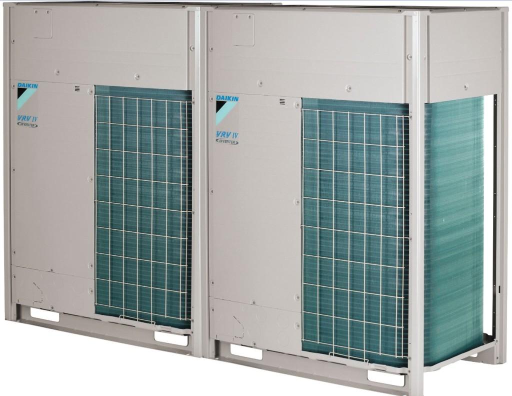 VRV – Variable Refrigerant Volume. Daikin VRV er et multisone system for individuell temperaturstyring av separate rom. Kuldemedievolumet i VRV systemet reguleres til å treffe kjøle- og/eller varmebehovet slik at systemet oppnår svært høy energieffektivitet. Alle Daikins innedeler kan kombineres i et VRV-anlegg, noe som gir full frihet til å velge riktig størrelse og design på innedelene i hvert enkelt rom. Dette er en perfekt løsning for kommersielle lokaler som kontorer, hotell, banker og kjøpesenter. Daikin VRV er en totalløsning for varme, kjøl, gulvvarme, tappevann, ventilasjon og luftgardiner.