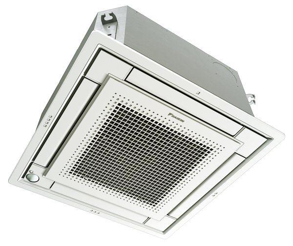 Daikin FFQ. himlings modell. Aircondition t-profil.