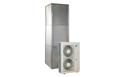 Daikin Altherma høytemperatur varmepumpe til utskifting av oljefyrt varmeanlegg.